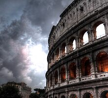 Colloseum at Dusk by shutterjunkie