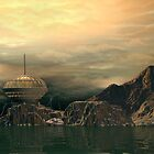 The Planet Typhoon Outpost  by Walter Colvin