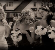 Bubbling Bridesmaids by ShutterUp Photographics