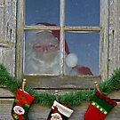 Santa's Stockings by Maria Dryfhout