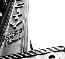 Radio City Music Hall, New York City by Jeff Blanchard