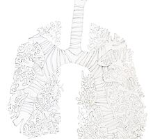 l is for lung by Poppie