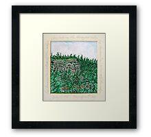 Echo Ridge Framed Print