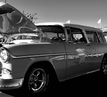 55 Chevy Nomad by Chris Morrison