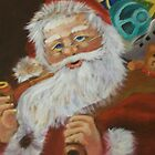 TRADITIONAL SANTA by LJonesGalleries