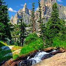 Babbling Brook / Rocky Mountain National Park by Mark Bolen
