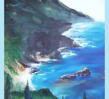 Big Sur Print by schiabor