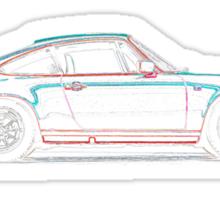 Porsche 911 3.2 Profile Sticker