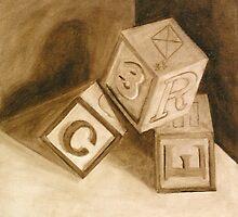 Blocks (Tumblin') by Marilyn Healey