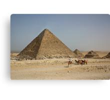 Pyramid of Menkaure Canvas Print