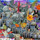 Gili Orr's digital paintings - II by Gili Orr
