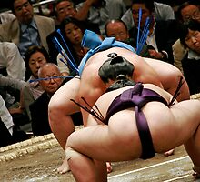 Sumo Face Off by Adam Martin