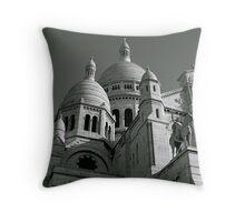 Sacre Coeur, Paris Throw Pillow