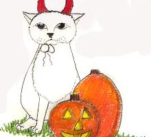Devil custume cat by harriet7