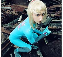 SSBB : Zero Suit Samus  by beethy