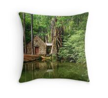 Berry College Mill Throw Pillow