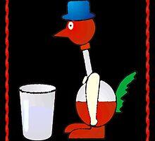 Bobbing Bird by colleen e scott