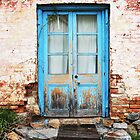 blue doors, braidwood, nsw by Clare McClelland