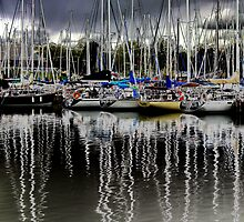 Mast Reflections by PPPhotoArt