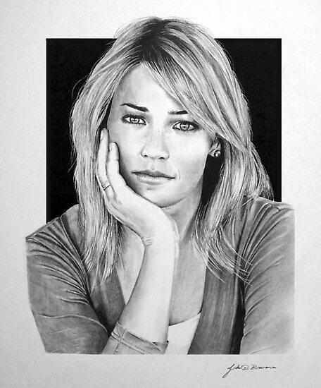 Portrait of Gracie by J.D. Bowman