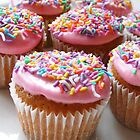 Strawberry Cupcakes by Framed-Photos