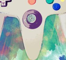 Nintendo in Technicolour Sticker