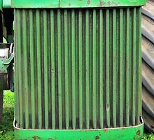 classic John Deere Tractor by Gareth Stamp
