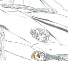 Porsche 928 Sticker
