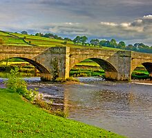Packhorse Bridge - Burnsall by Trevor Kersley