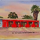 The Red House,Hay St ,Kalgoorlie West Australia. by robynart