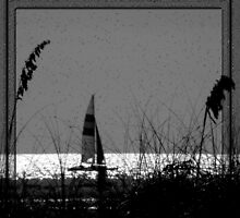 Sailing (It's not far to never never land) by artisandelimage