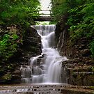 Ithaca's Buttermilk falls I by PJS15204