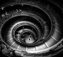 Vatican Museum Staircase by thephotosnapper