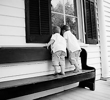 Peeping Boys by Ashley Turner