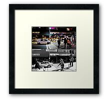 Like Night and Day - Darlinghurst Rd - 2009 Portfolio Project Framed Print