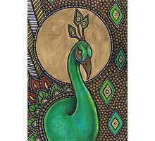 Icon VII: The Peacock Photographic Print