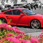 Red Porsche GT2 by Craig Blanchard