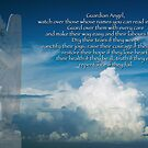 Prayer to the Guardian Angel of those in our hearts by Bonnie T.  Barry