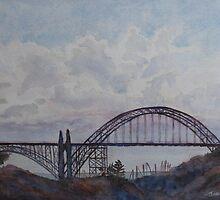 Newport Bay Bridge I by JennyArmitage