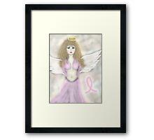 Pink Angel...A reminder angel Framed Print