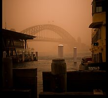 Sydney Dust storm - Friendship by David Petranker