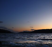 Loch Ness Sunset by Ben Luck