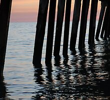 Henley Beach Jetty by Shon Ellerton