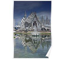 Wat Rong Khun White Temple Poster