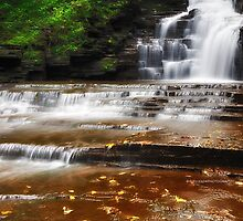 Ithaca's Buttermilk falls II by PJS15204