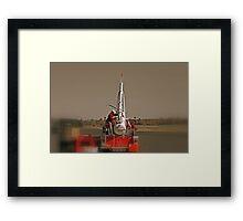 The Pumpkin Cannon Framed Print