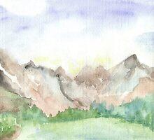 Mountains by Carolyn Leete