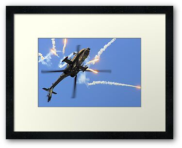 AH64 Apache by airwolfhound