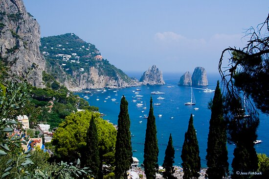 Capri View by imagic
