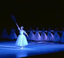 Ballet dancers performing Swan Lake by Brian McInerney